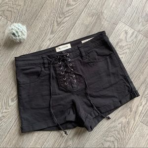 Pacsun Black denim jean shorts